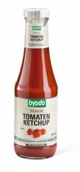 BYODO Tomaten Ketchup ohne Kristallzucker mit Agavendicksaft gesüßt 500ml