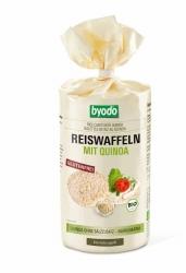 BYODO Reiswaffeln mit Quinoa ohne Salzzusatz 100g