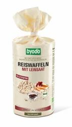 BYODO Reiswaffeln mit Leinsaat 100g
