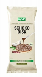 BYODO Schoko-Disk Vollmilch Kokos 70g