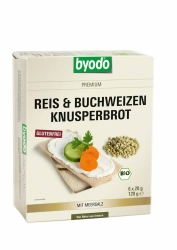 BYODO Reis & Buchweizen Knusperbrot 120g