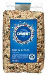 Davert Reis & Linsen Mischung 500g