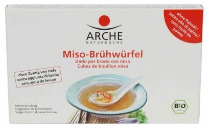 Arche Naturküche Miso Brühwürfel 80g