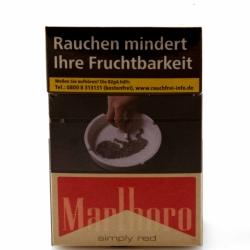 Marlboro Red ohne Zusätze 20 Stück