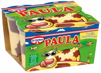Dr. Oetker Paula Pudding Vanille 4x125g