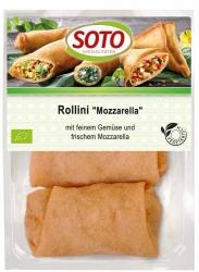 SOTO vegetarische Spezialitäten Rollini Mozzarella 3x50g
