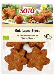 SOTO vegetarische Spezialitäten Gute Laune Sterne 250g