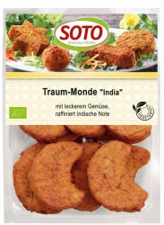 SOTO vegetarische Spezialitäten Traum-Monde ´India´ 220g