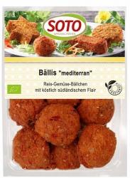 SOTO vegetarische Spezialitäten Bällis ´mediterran´ 250g