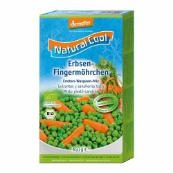Natural Cool Erbsen und Fingermöhrchen 450g