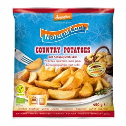 Natural Cool Country Potatoes 450g