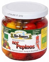 Isarmoos Bauern - Biohof Laurer Hot Pepinos 180g