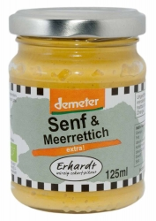 Erhardt Senf & Meerrettich extra 125ml