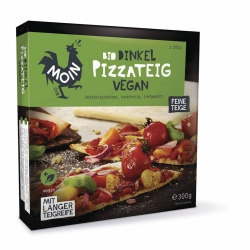 Moin Bio Backwaren Bio Dinkel Pizzateig 3x100g