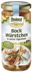 ÖKOLAND Bockwürstchen in zarter Eigenhaut im Glas 180g