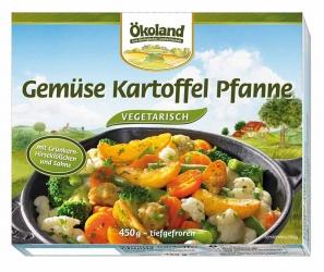 ÖKOLAND Gemüse Kartoffel Pfanne vegetarisch 450g
