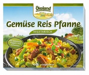 ÖKOLAND Gemüse Reis Pfanne vegetarisch 450g