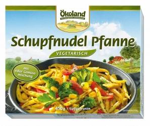 ÖKOLAND Schupfnudel Pfanne vegetarisch 450g