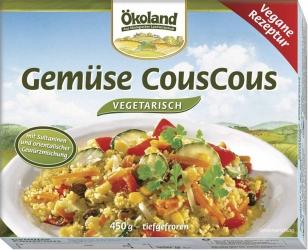 ÖKOLAND Gemüse CousCous vegetarisch 450g