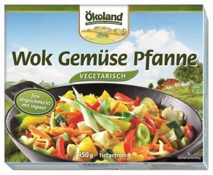 ÖKOLAND Wok Gemüse Pfanne 450g