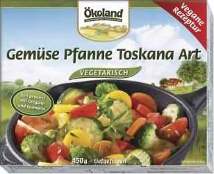 ÖKOLAND Gemüse Pfanne Toskana Art 450g