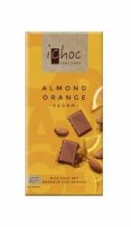 iChoc Almond Orange - Rice Choc 80g