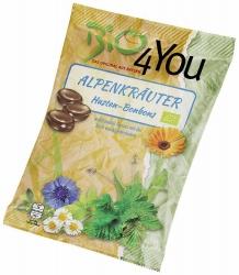 Bio4You Bio-Bonbon Alpenkräuter Hustenbonbon 75g