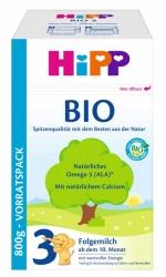 Hipp 3 Bio-Folgemilch ab dem 10. Monat 800g