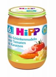 Hipp Bio Schinkennudeln mit Tomaten & Karotten ab dem 6. Monat 190g