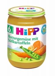 Hipp  Buttergemüse mit Süßkartoffeln ab dem 6. Monat 190g