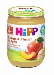 Hipp Banane & Pfirsich in Apfel nach dem 4. Monat 190g