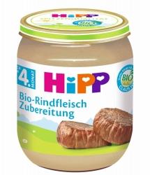 Hipp Bio-Rindfleisch Zubereitung nach dem 4. Monat 125g