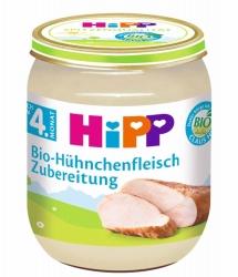 Hipp Bio-Hühnchenfleisch Zubereitung nach dem 4. Monat 125g