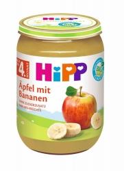 Hipp  Äpfel mit Bananen nach dem 4.Monat 190g