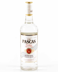Old Pascas Barbados White Rum 37,5% 0,7l