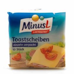 MinusL Schmelzkäse-Scheiben 40% Vollfettstufe 200g