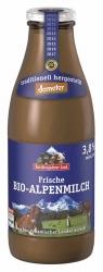 Berchtesgadener Land Bio Demeter Frische Bio-Alpenmilch mind 3,8% 1l