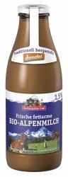 Berchtesgadener Land Bio Demeter Frische Bio-Alpenmilch fettarm 1l