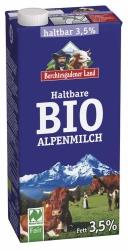 Berchtesgadener Land Bio Naturland Haltbare Bio-Alpenmilch 1l