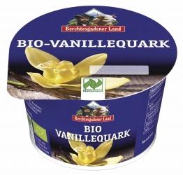 Berchtesgadener Land Bio Naturland Bio-Vanillequark Viertelfettstufe 200g