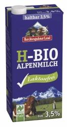 Berchtesgadener Land Bio haltbare Bio-Alpenmilch laktosefrei 3,5% 1l