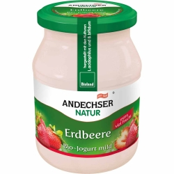 Andechser Natur Bio Jogurt Erdbeer 3,7% 500g