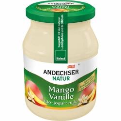 Andechser Natur Bio Jogurt Mango-Vanille 3,7% 500g