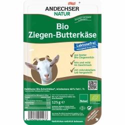 Andechser Natur Bio Ziegenbutterkäse Scheiben 48% 125g