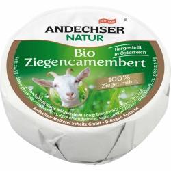 Andechser Natur Bio-Ziegencamembert 55% 100g