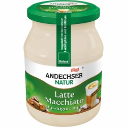 Andechser Natur Bio Jogurt Latte Machiatto 3,7% 500g