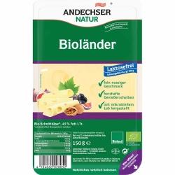 Andechser Natur AN Bioländer in Scheiben 45% 150g