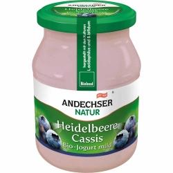 Andechser Natur Bio Jogurt Heidelbeere Cassis 3,7% 500g