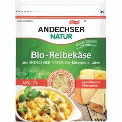 Andechser Natur AN Bio Reibekäse 45% 150g