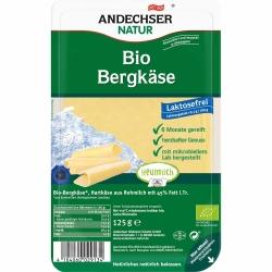 Andechser Natur Bio Bergkäse Scheiben 45% 125g